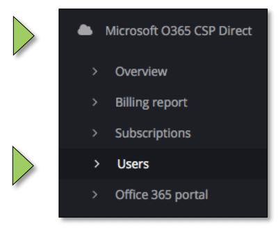 O365 Self service 18.05.04